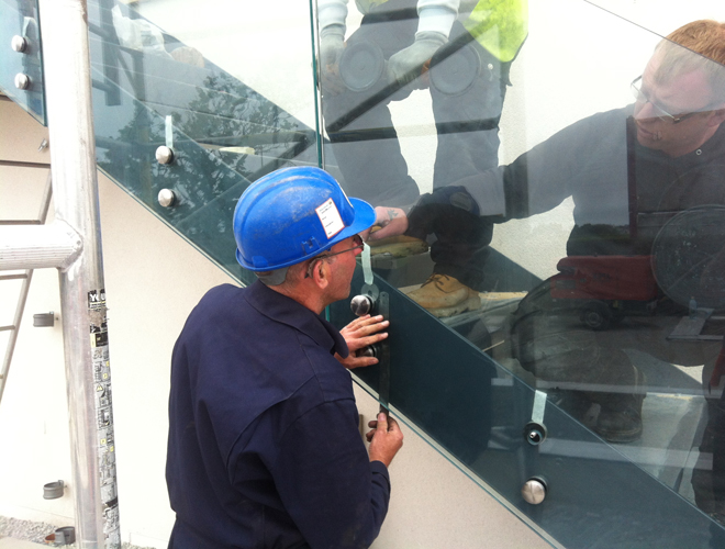 Glass Balcony Balustrades