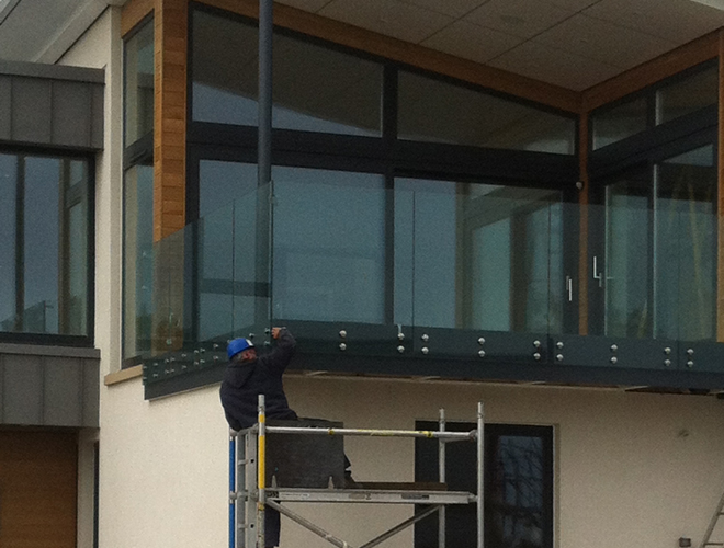 Glass Balustrade Dunfermline