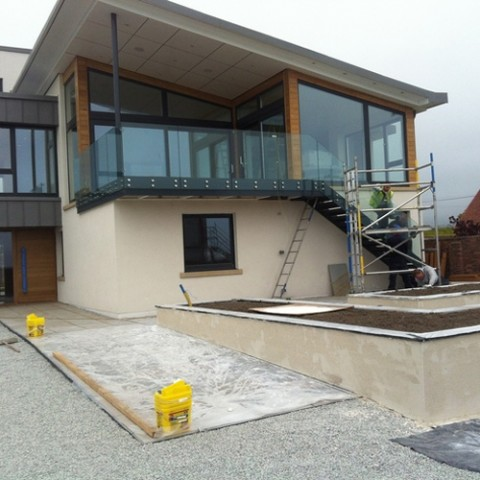 Glass Balustrades Scotland